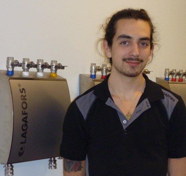 Lagafors verstärkt die Montageabteilung mit Niklas Racov
