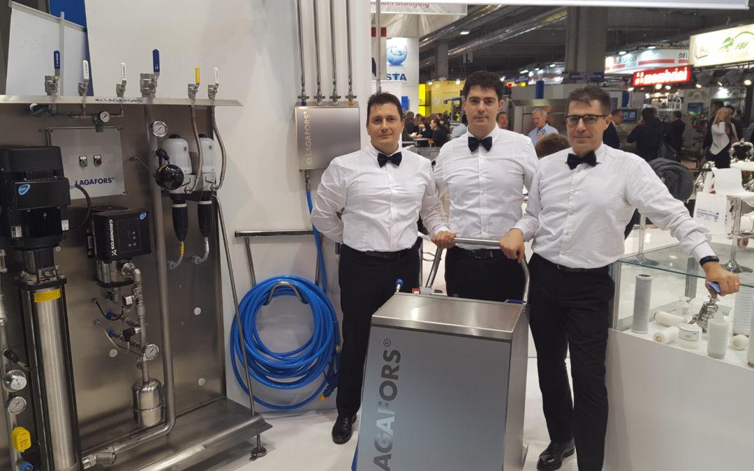 Lagafors wird auf der Cibus Tech von Tekna Parma S.r.l vertreten
