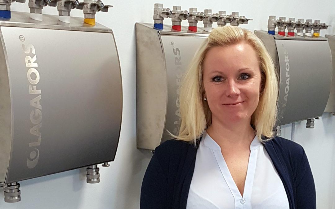 Wir begrüßen Sara als neue Verantwortliche für das Rechnungswesen von Lagafors