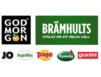Lagafors hält den Anforderungen der führenden skandinavischen Säfte und Fruchtgetränke stand