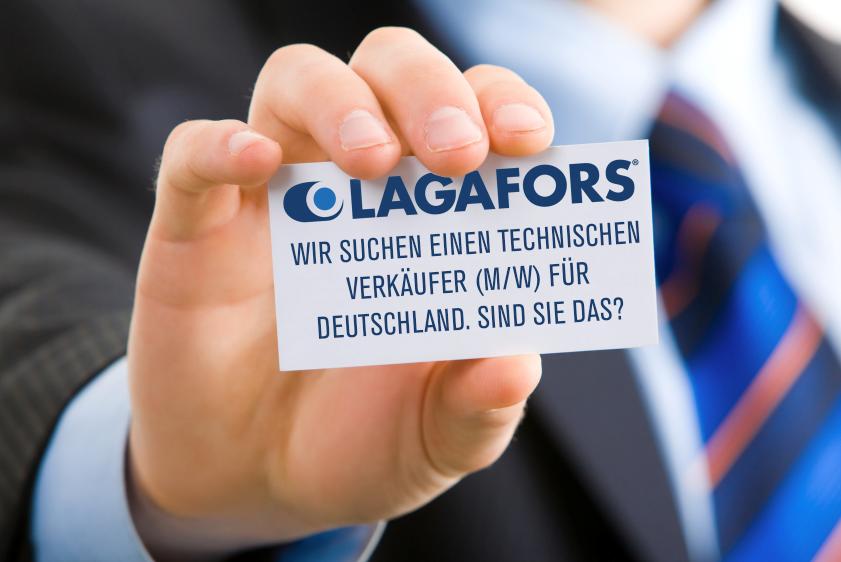 Lagafors sucht technischen Verkäufer für Deutschland