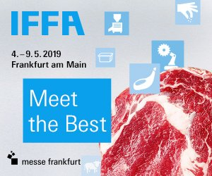 Willkommen auf der IFFA 2019 – 4.–9. Mai